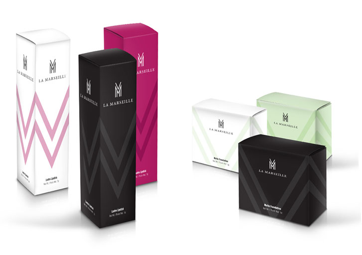 La Marseille packaging design