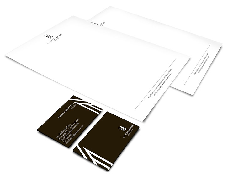 Business cards and letterhead design