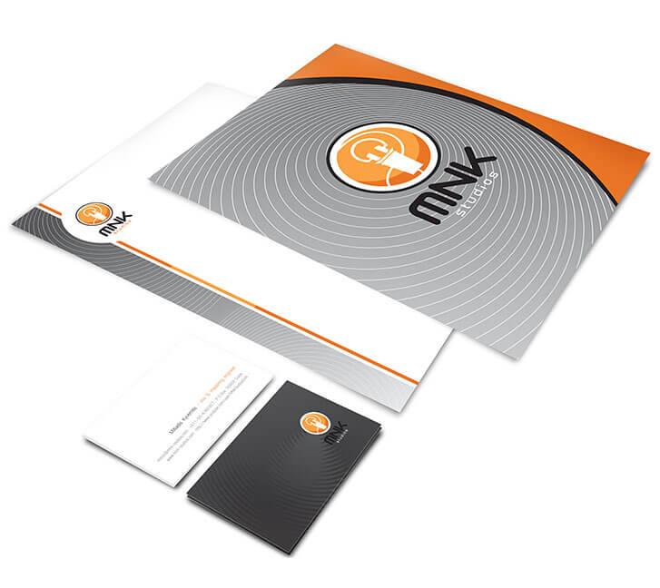 Stationery design with Jaan brand