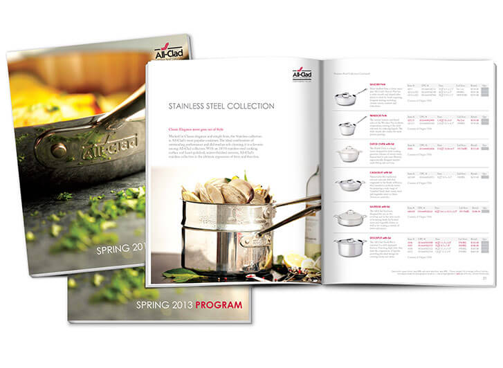 additional spreads for brochure design