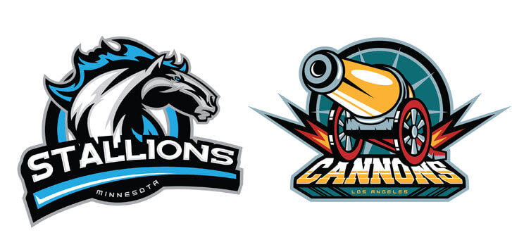 Team design for stalions and cannons