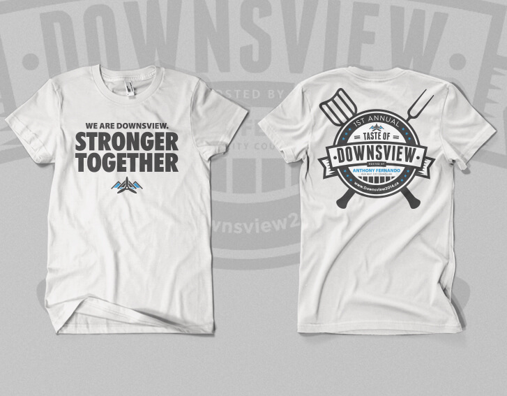 T-shirt design for Downsview