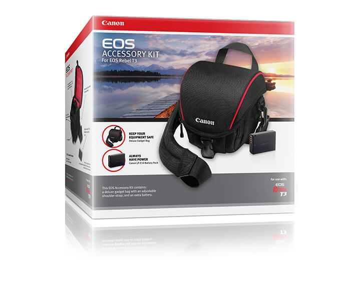 Bundle box packaging design for Canon Canada