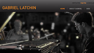 Design for a Jazz Musicians Website