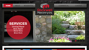 Rockwell Masonry Website Samples